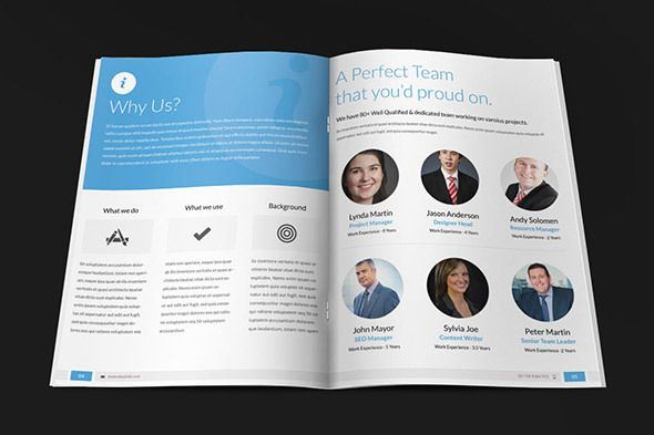 Corposal - Corporate Proposal Template by Bouncy Studio, via - company proposal template