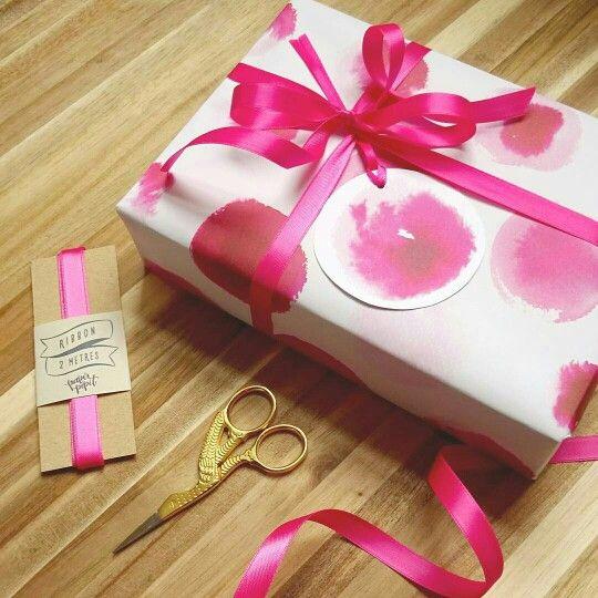Embrulho rosa