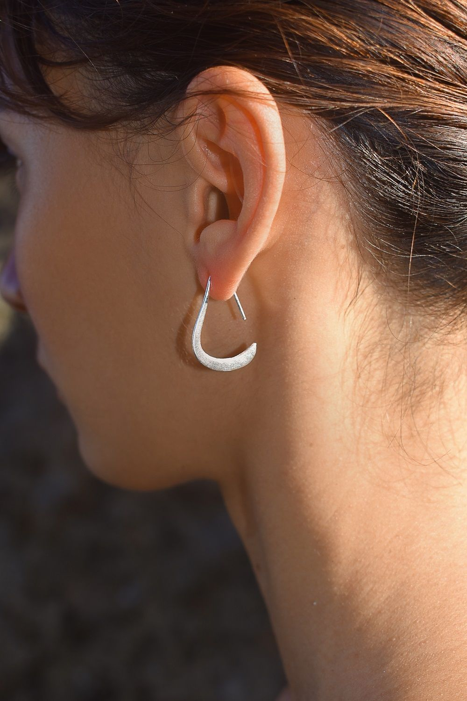 Ear piercing ideas simple  Pin by I Heard They Eat Cigarettes on Sterling Silver Earrings