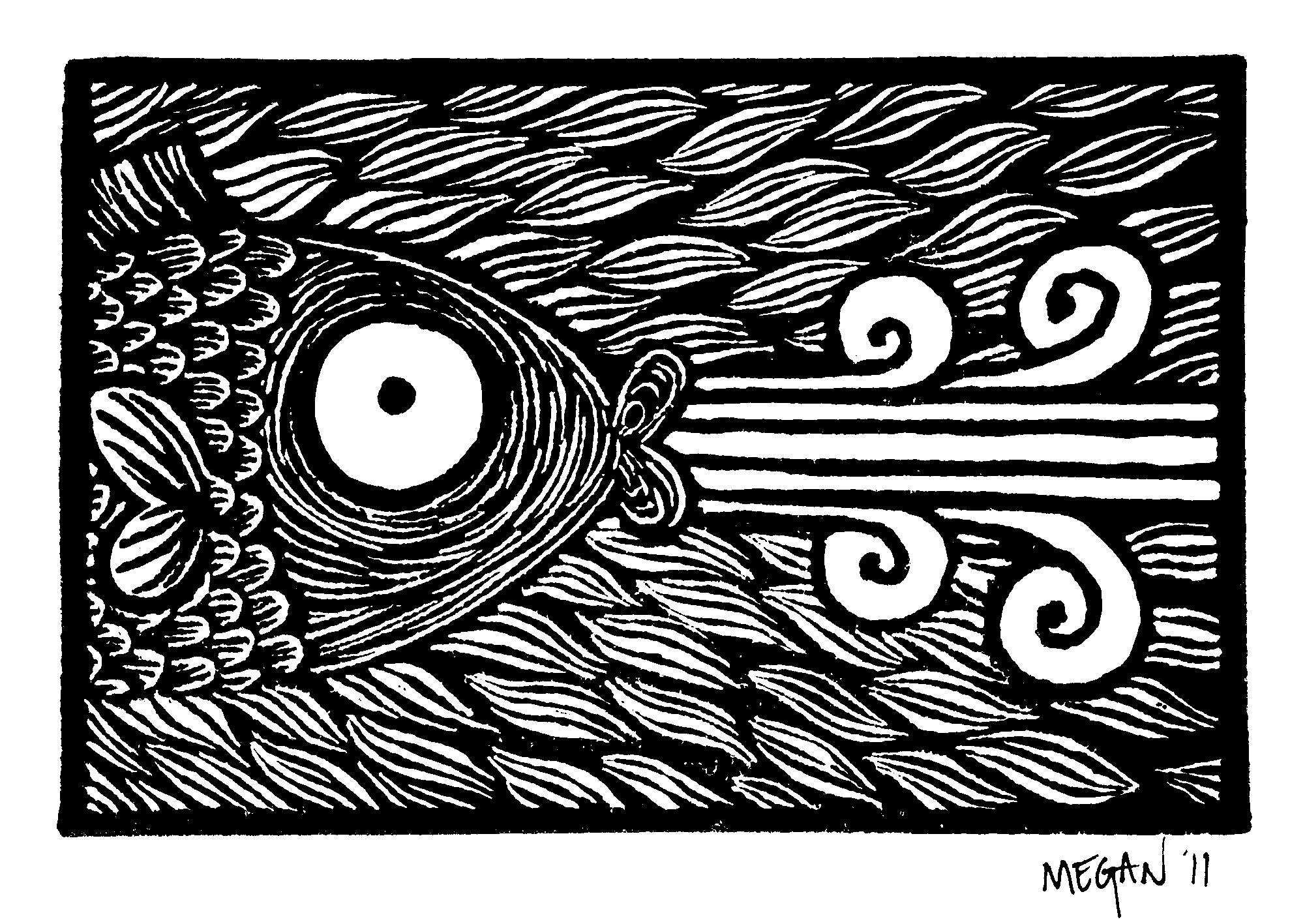 Megan Lino Print Fish