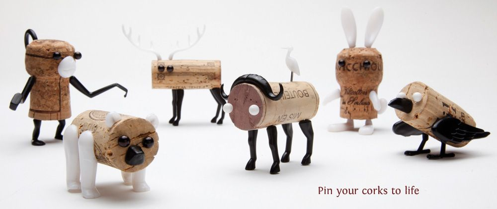 Reddish Studio - The Corkers.  Recently seen in a lot of blogs... in love with the elk <3