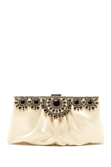 Valentino Satin Beaded Clutch by Must-Have Bags For Summer on @HauteLook