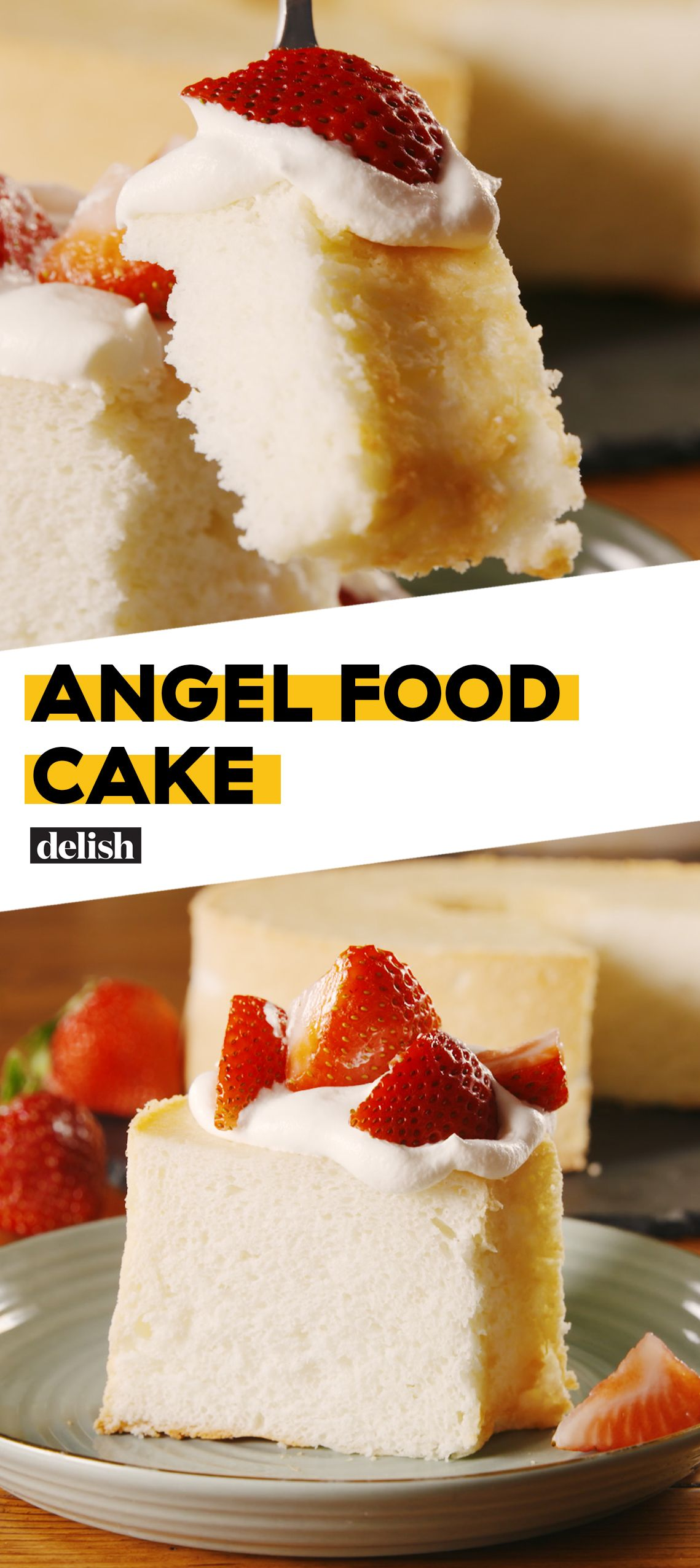 Angel Food Cake Recipe Cake Recipes Desserts Angel Food Cake