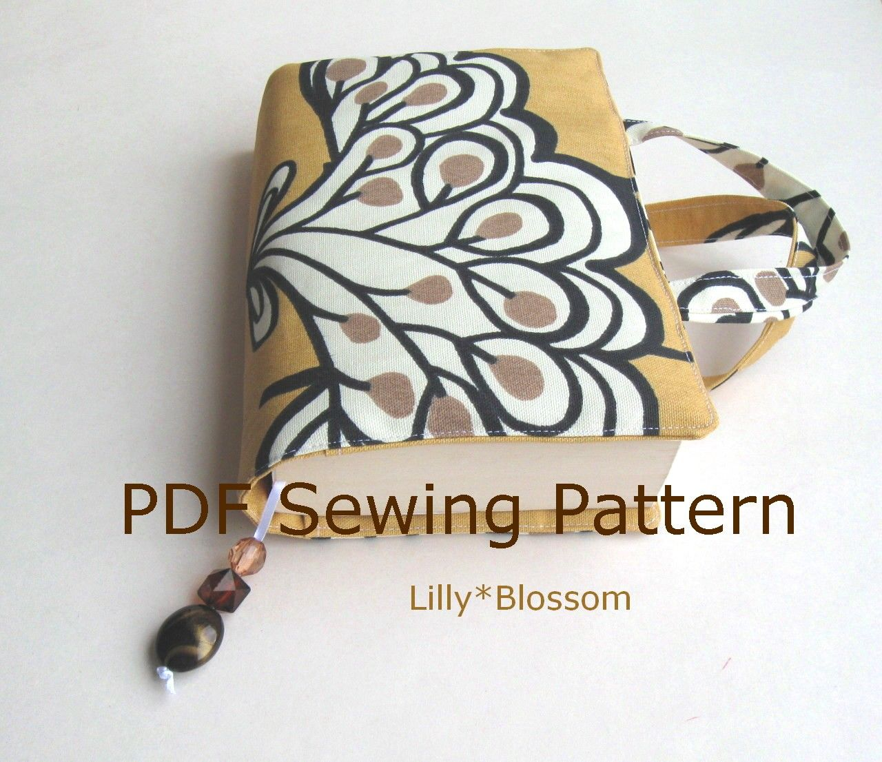 How To Sew Book Cover Tutorial : Book cover pattern free sewing note