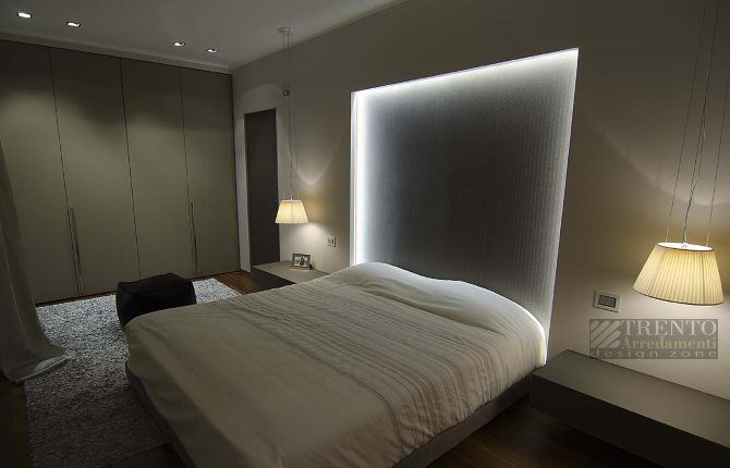 Come illuminare la camera da letto