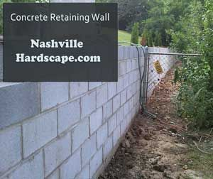 Related Image Concrete Retaining Walls Sloped Backyard Retaining Wall