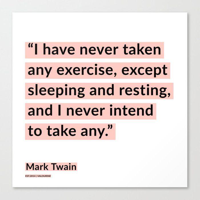 59 | Mark Twain Quotes 200908 Motivational Inspirational Inspiring Motivating Canvas Print by Wordz