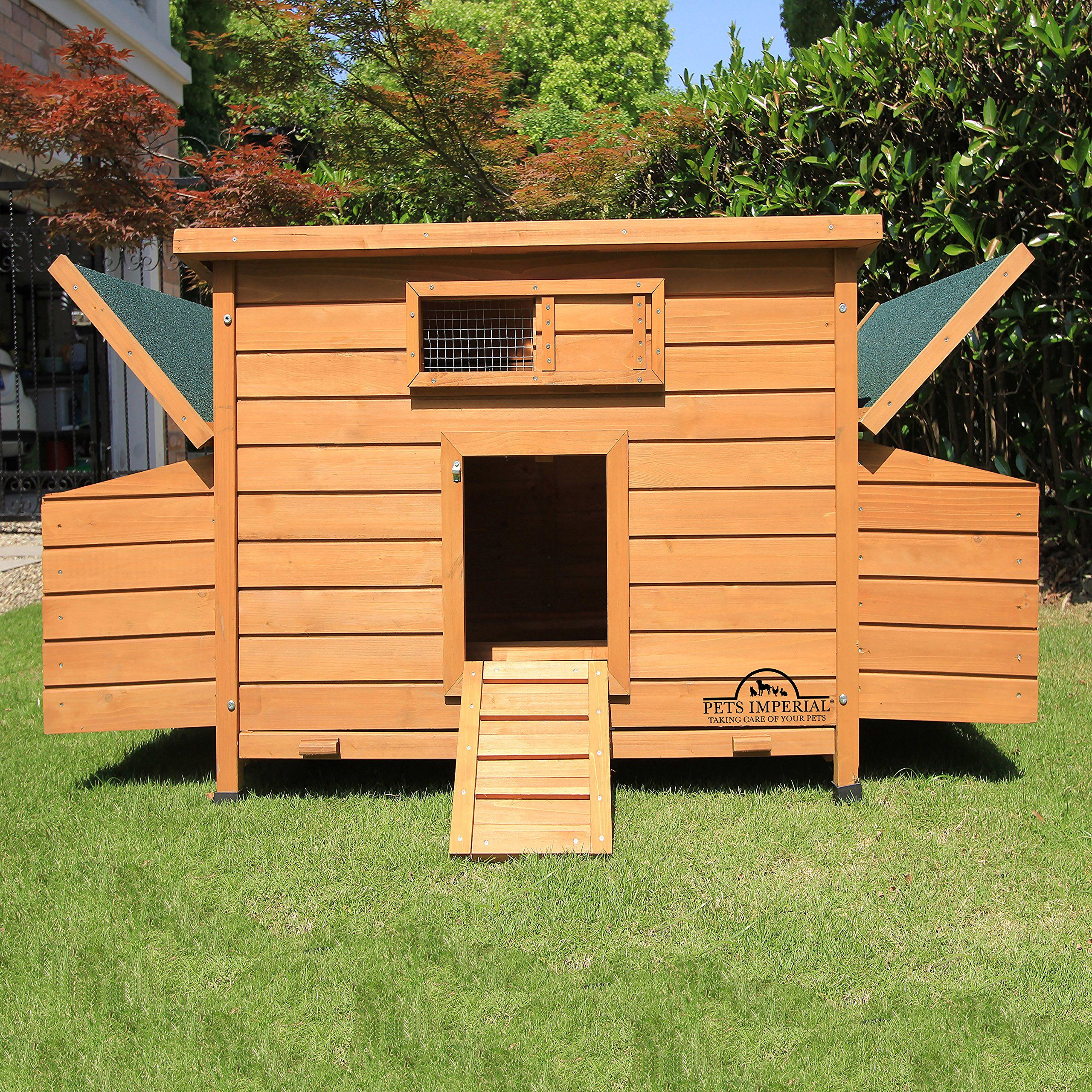 Pets Imperial Balmoral Double Large Chicken Coop With 4ft