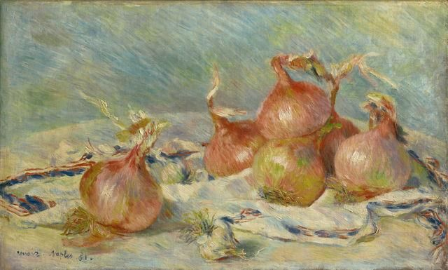 Onions by Renoir; discussion by Dr. Cindy