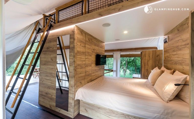 Glamorous Safari Tents for Romantic Couples' Getaway with ...
