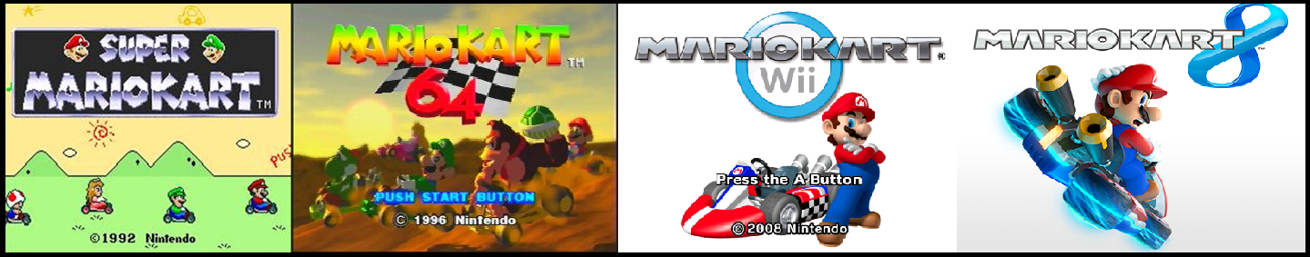 Mario Kart A Look Back from SNES to Wii U Mario kart