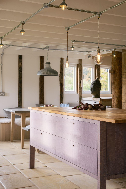A beautiful Sebastian Cox Prep Table in \'Lavender\' | Furniture ...