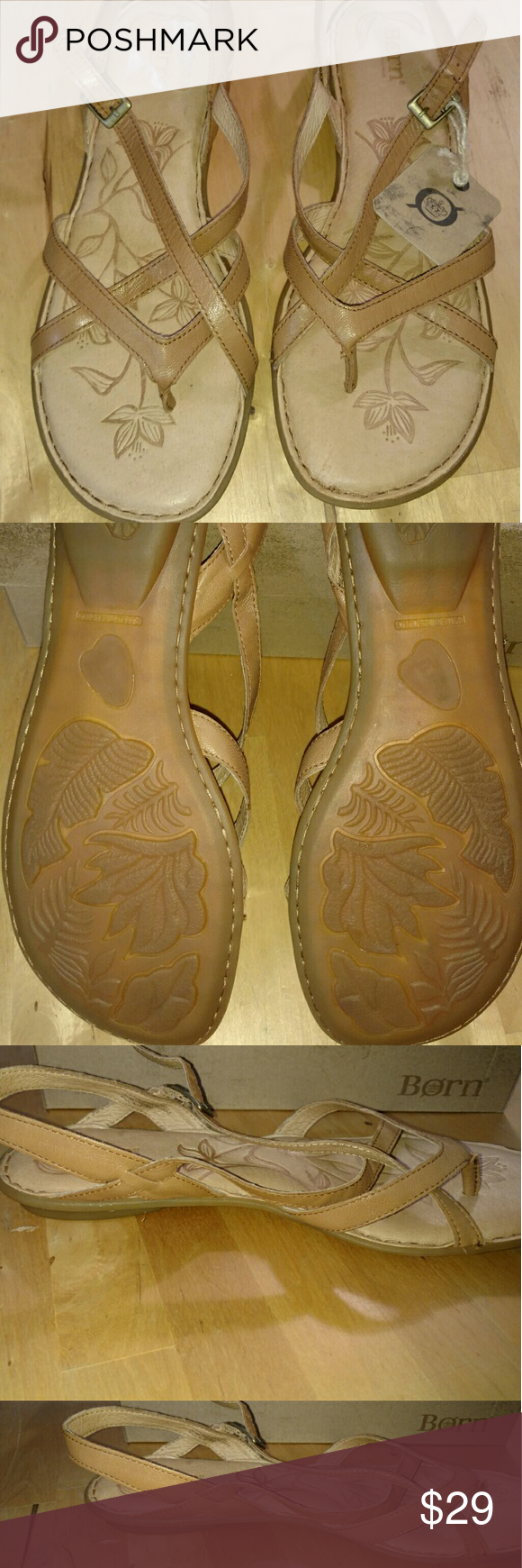 NIB Born Valmar Sandals Very soft and extremely comfortable Never worn Born Shoes Sandals
