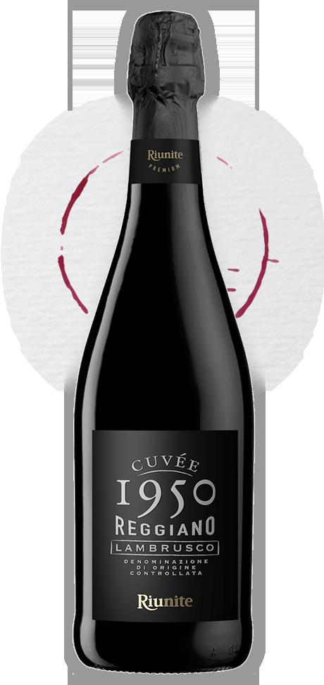Redesign of Cuvée 1950, Lambrusco premium created for Riunite, Italy
