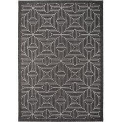 benuta In- & Outdoor-Teppich Canvas Schwarz 100x150 cm - für Balkon, Terrasse & Garten benuta #leinwandideen