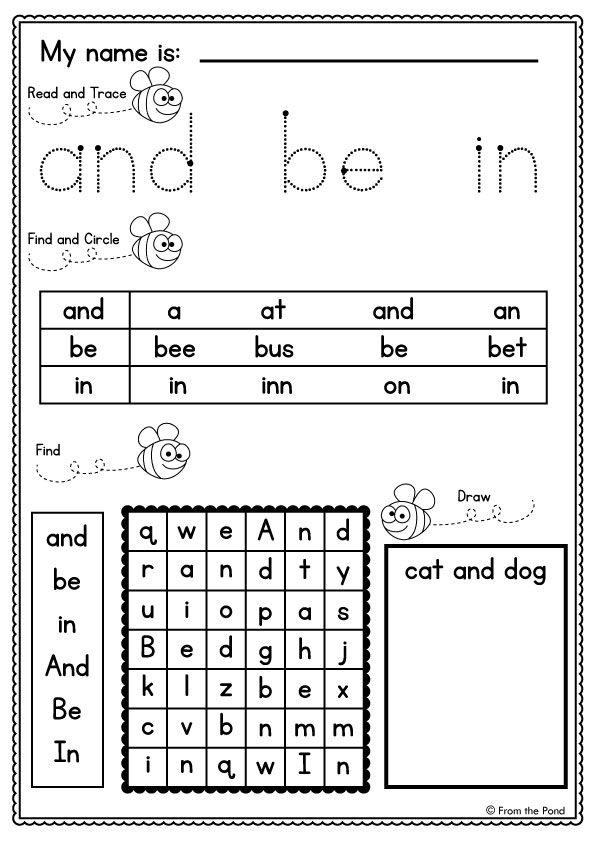 Sight Word Worksheets Mega Pack Sight Word Worksheets Dolch Words Sight Words