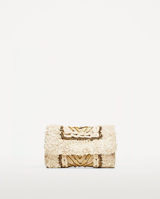 Image 2 of FABRIC CROSSBODY BAG from Zara