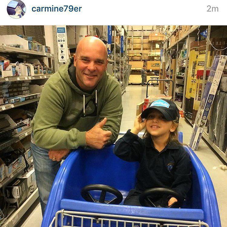 "bryanbaeumler: ""We have a winner! Cutest customer @lowes_canada in Burlington. Enjoy the hat Mya :) @carmine79er"""