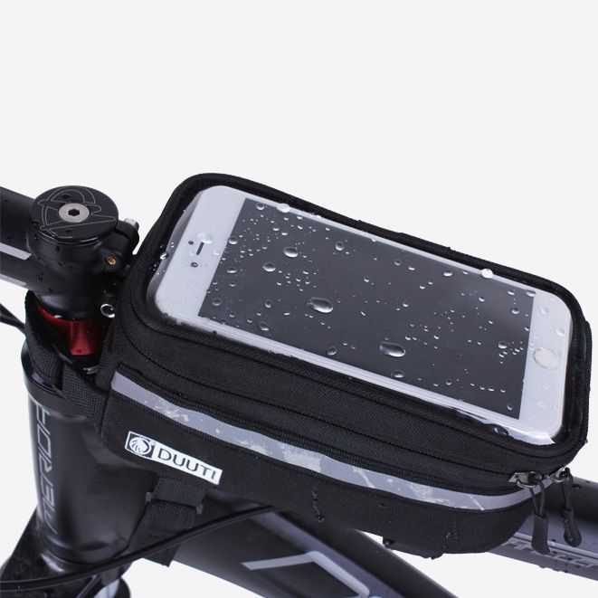 "$5.93 (Buy here: http://appdeal.ru/65tl ) 3.5""-5.7"" Cycling Bicycle bags panniers Frame Front Tube Bag For Cell Phone MTB Bike Touch Screen Bag For Iphone For Samsung S6 for just $5.93"