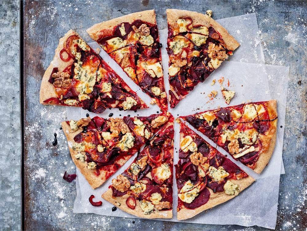 Punajuuripizza