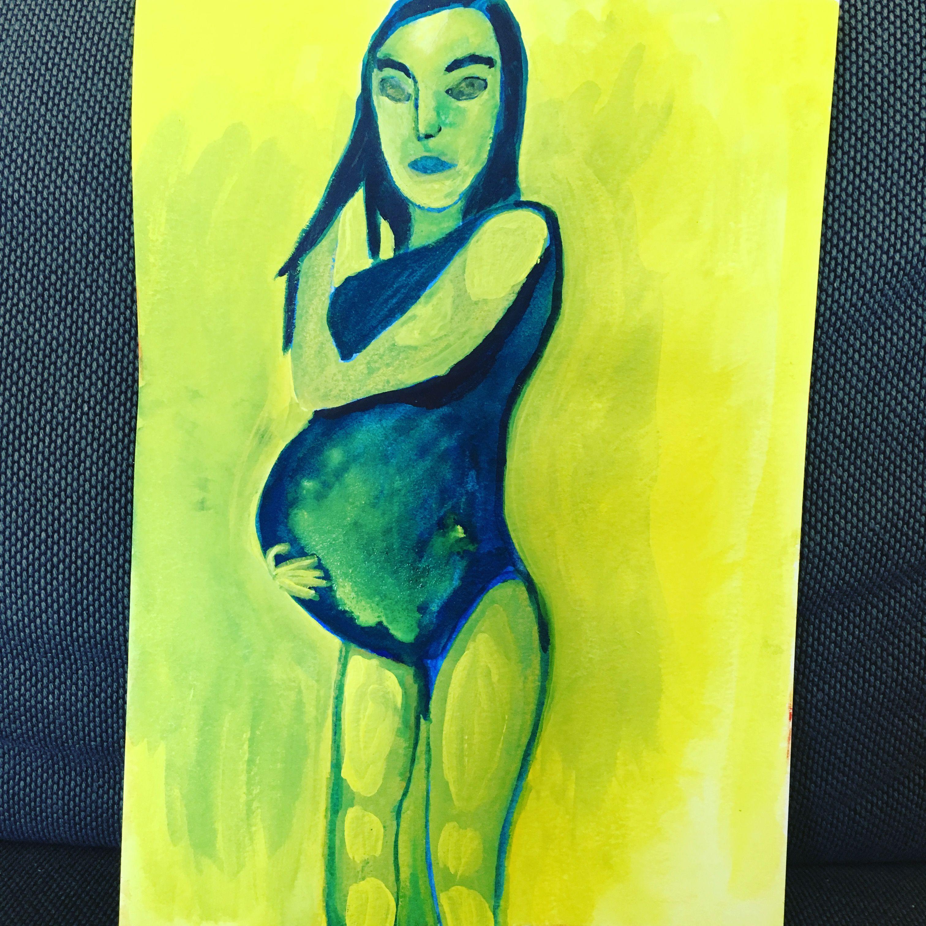 Maling gravid