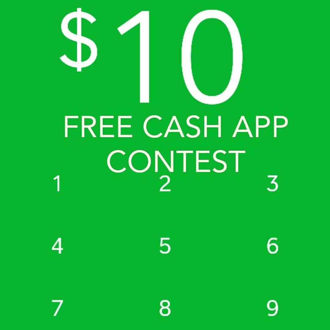 Cash app contest free visa card free cash get paid online