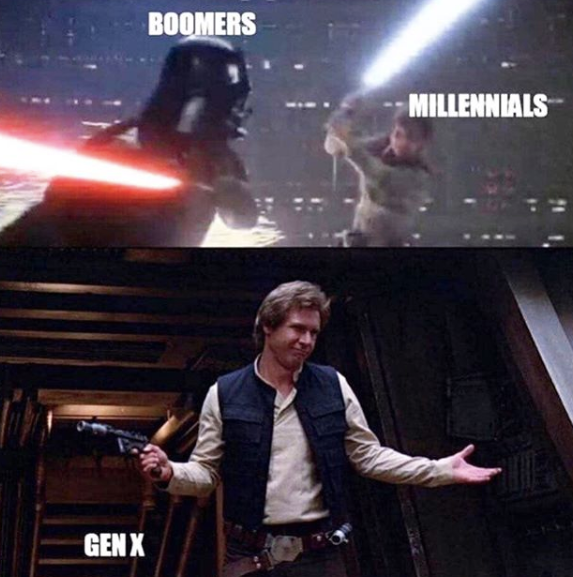 23 Memes That Will Only Be Funny If You Re In Generation X Star Wars Humor Star Wars Memes Star Wars Fandom