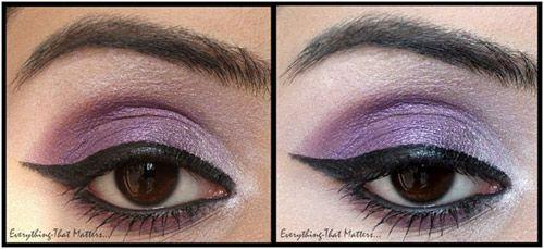 Purple Eyes: