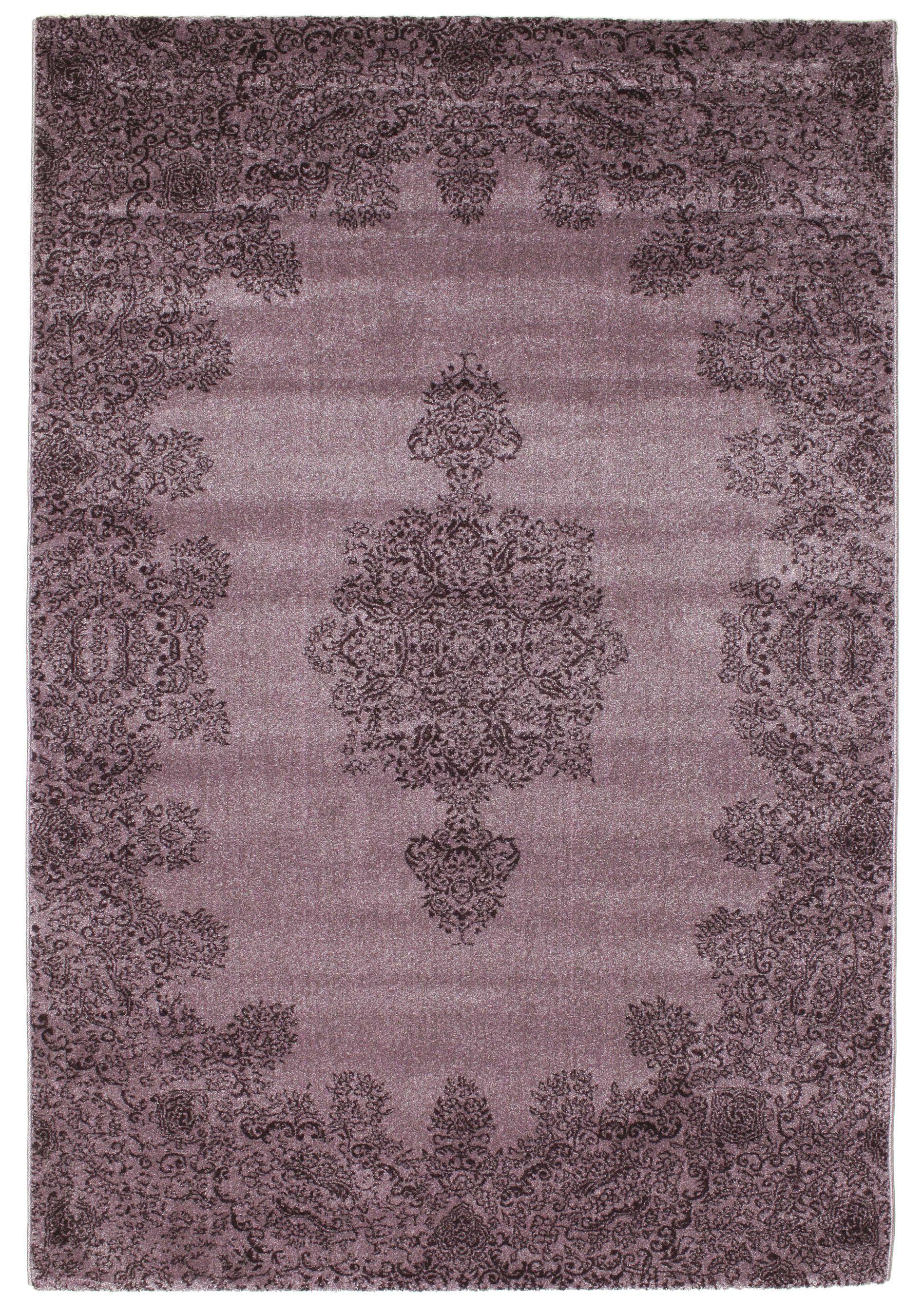 Kirman Virginia Lila 160x230 Lila Teppich Teppich Virginia