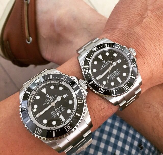 Rolex DSSD vs Rolex SeaDweller