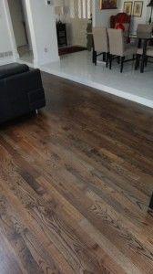 dallas hardwood floor installation complete