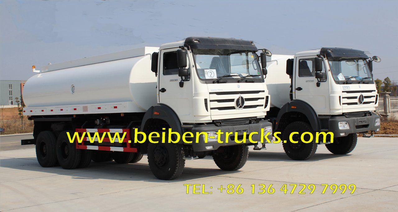 Beiben 6x6 Water Tank Truck 10 20m3 Tanker Truck Www Beiben