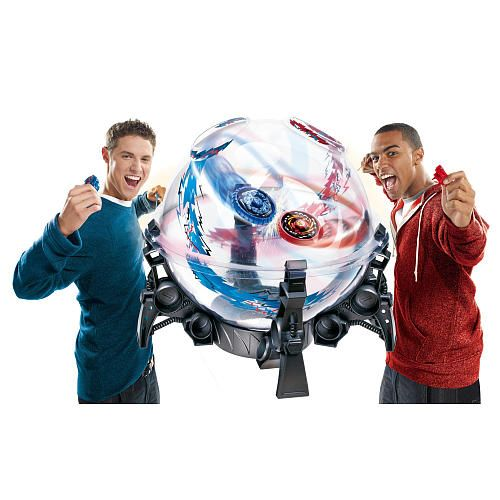 """Beyblade Metal Fury Performance Top System Destroyer Dome Set - Hasbro - Toys """"R"""" Us"""