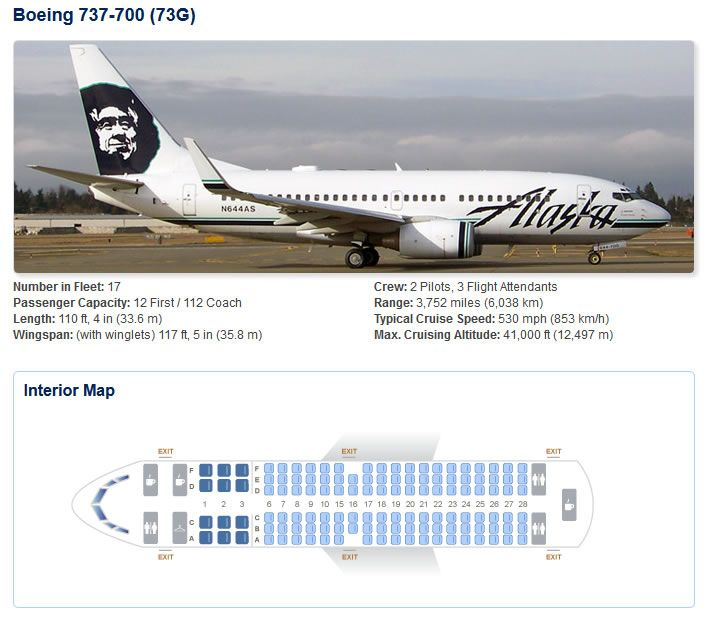 Alaska airlines boeing aircraft seating chart also airline rh pinterest