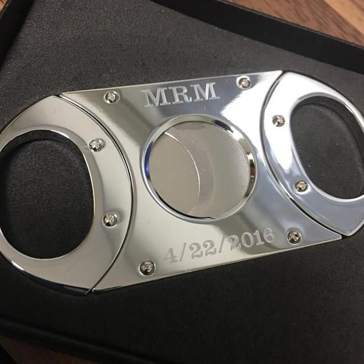 Cigar cutter stainless steel bday gifts for him