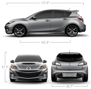 2013 Mazdaspeed 3 Compact Sports Car Specs Features Mazda Usa