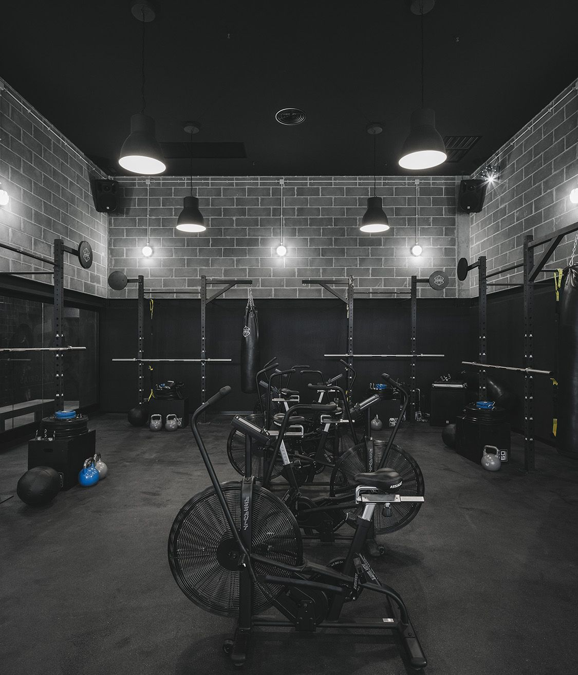 Gym Interior Fitness Design And: Krush-It Boutique Fitness Club - Braga, Portugal