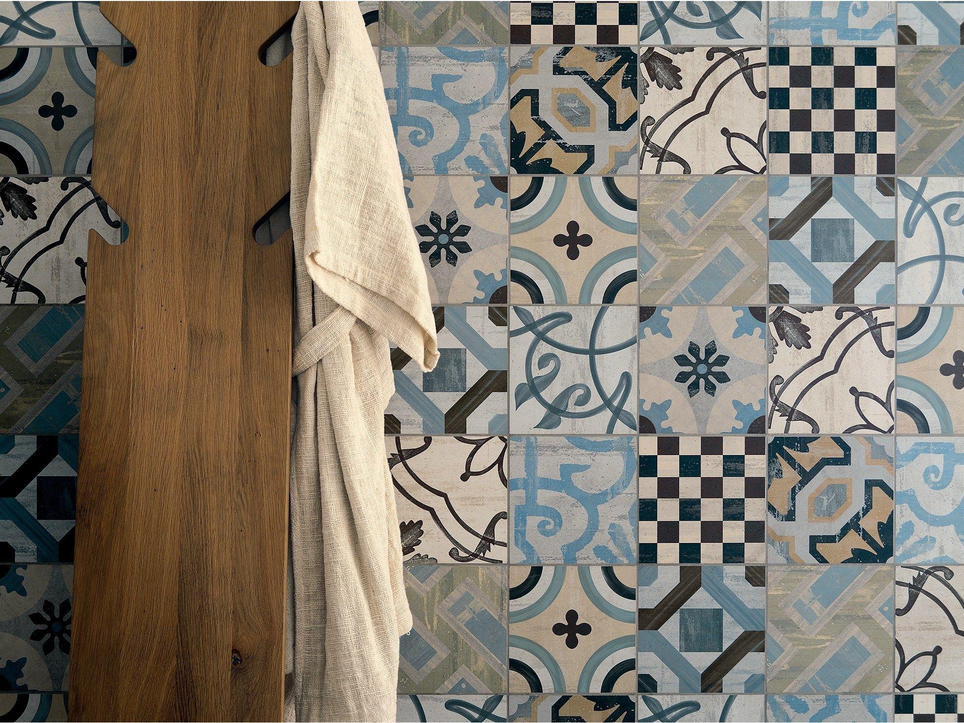 Piastrelle cucina vintage cerca con google bagno pinterest cer mica azulejos e ba os - Piastrelle geometriche cucina ...