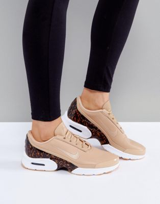 6641c490625 Nike Air Max Jewell Lx Trainers In Tan Leather