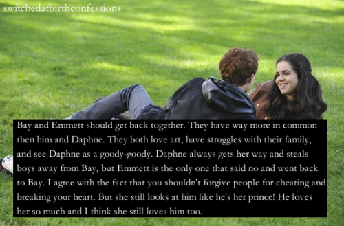 Switched At Birth Confessions Bay Did Still Look At Emmett When