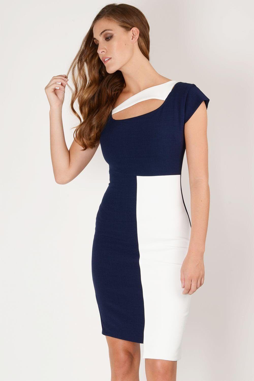 Hybrid Winona Crepe Asymmetric Dress In 2019 Hybrid Workwear