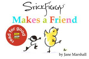 'StickFiggy Makes a Friend' free for check out this week for the @MeMeTales Children's Stories Readathon #readforgood - I've never heard of StickFiggy before this and LOVE it! Are you a StickFiggy fan?