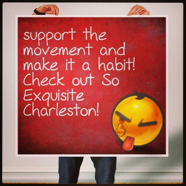 Do it nowwwww! www.soexquisitecharleston.com