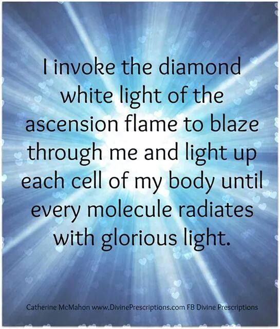 Diamond White Light of the Ascension Flame