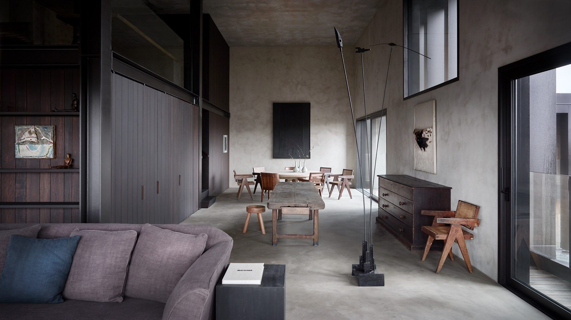 Inside An Axel Vervoordt Designed Duplex At Kanaal Top Interior