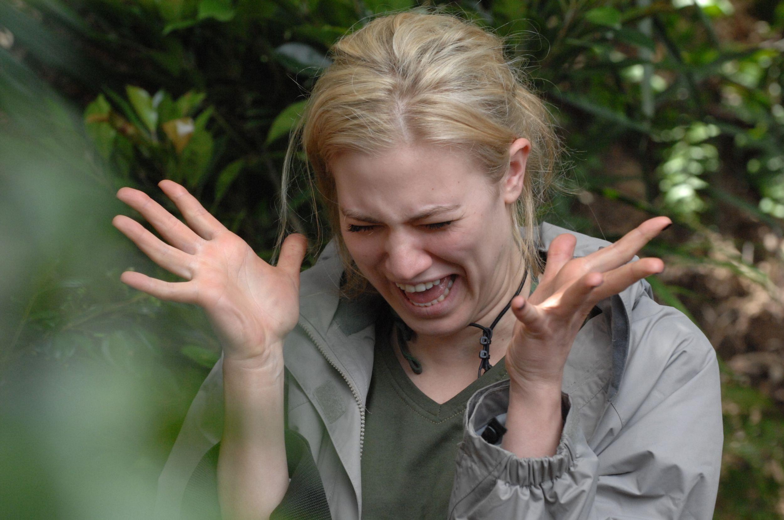 #Larissa in der lustigsten #Dschungelprüfung ever, ever, ever! #Dschungelcamp #Dschungelcamp2014 #IBES #IBES2014 #IBES8 #RTL