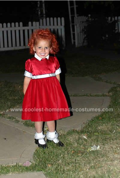 Annie Home Made Costumes. Mom? Helena would make an awful cute Annie next year  sc 1 st  Pinterest & Coolest Home Made Costumes and How-To Tips | Annie Costumes and ...