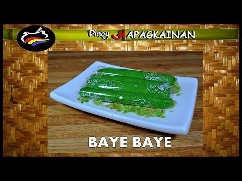 BAYE BAYE Pinoy Hapagkainan