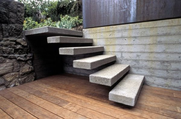 moderne huser treppen architektur wohnen atrium ideen stein architecture live - Wohnideen Stein