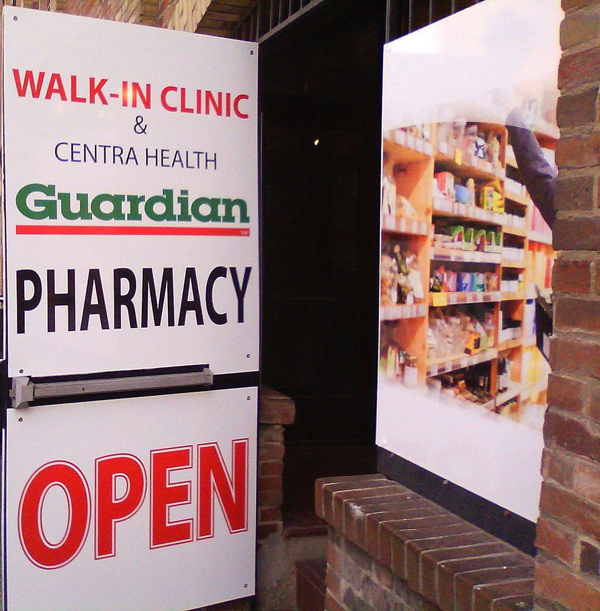Fantastic outdoor signage done by Speedpro Imaging Erin Mills for a new pharmacy that just opened in Toronto!